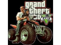 """""""Grand Theft autov Moto"""" Изображение для нанесения на одежду № 1460"""
