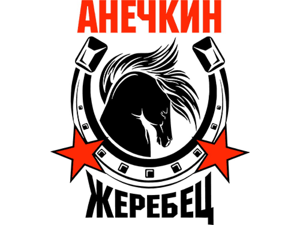 """""""Анечкин жеребец"""" Изображение для нанесения на одежду № 1478"""