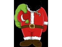 """""""Дед мороз"""" Изображение для нанесения на одежду № 1995"""
