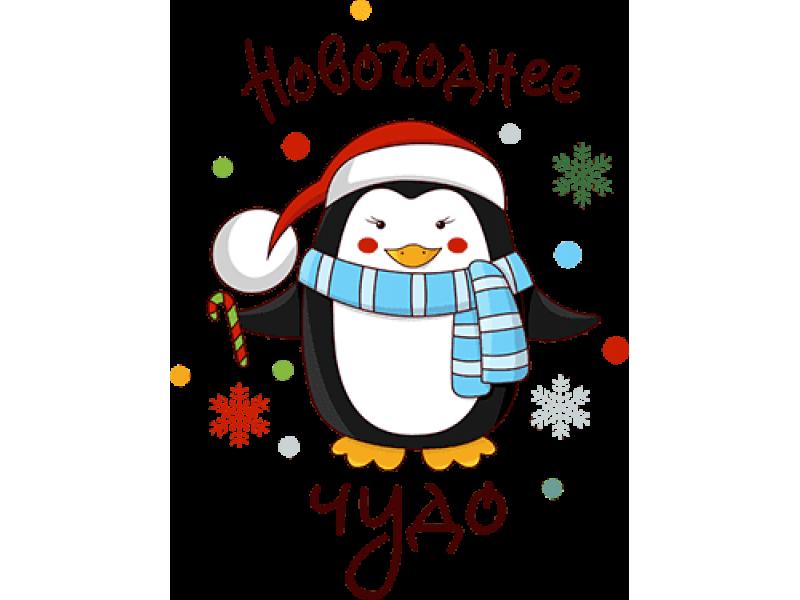 """""""Новогоднее чудо"""" Изображение для нанесения на одежду № 2041"""