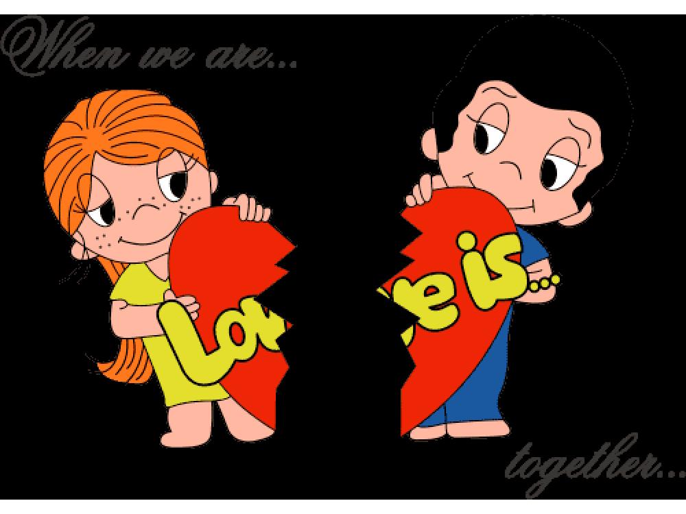 """""""Love is..."""" Изображение для нанесения на одежду № 1857"""