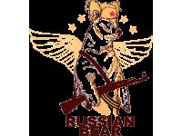 """RUSSIAN BEAR"" Изображение для нанесения на одежду № 0121"