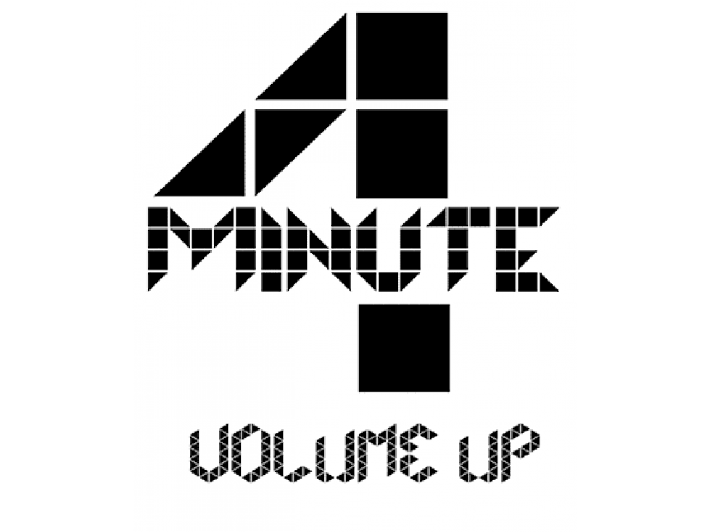 """""""4 MINUTE"""" Изображение для нанесения на одежду № 1941"""