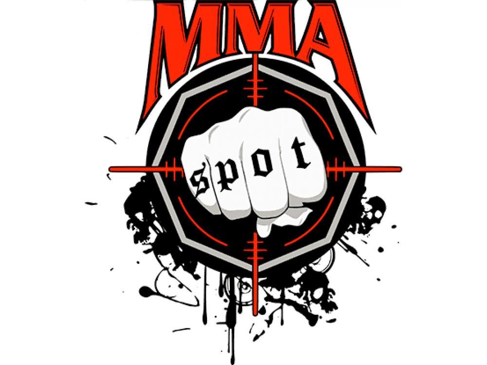 """""""MMA SPOT"""" Изображение для нанесения на одежду № 1943"""