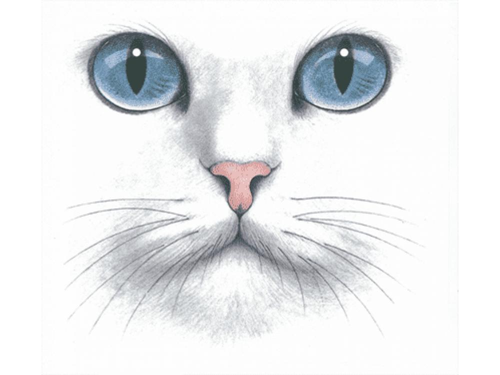 """""""кошка"""" Изображение для нанесения на одежду № 2079"""