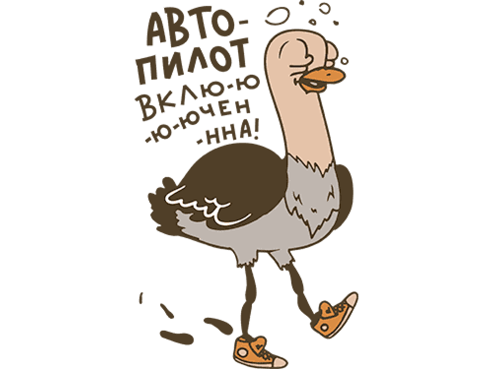 """""""Автопилот"""" Изображение для нанесения на одежду № 0638"""