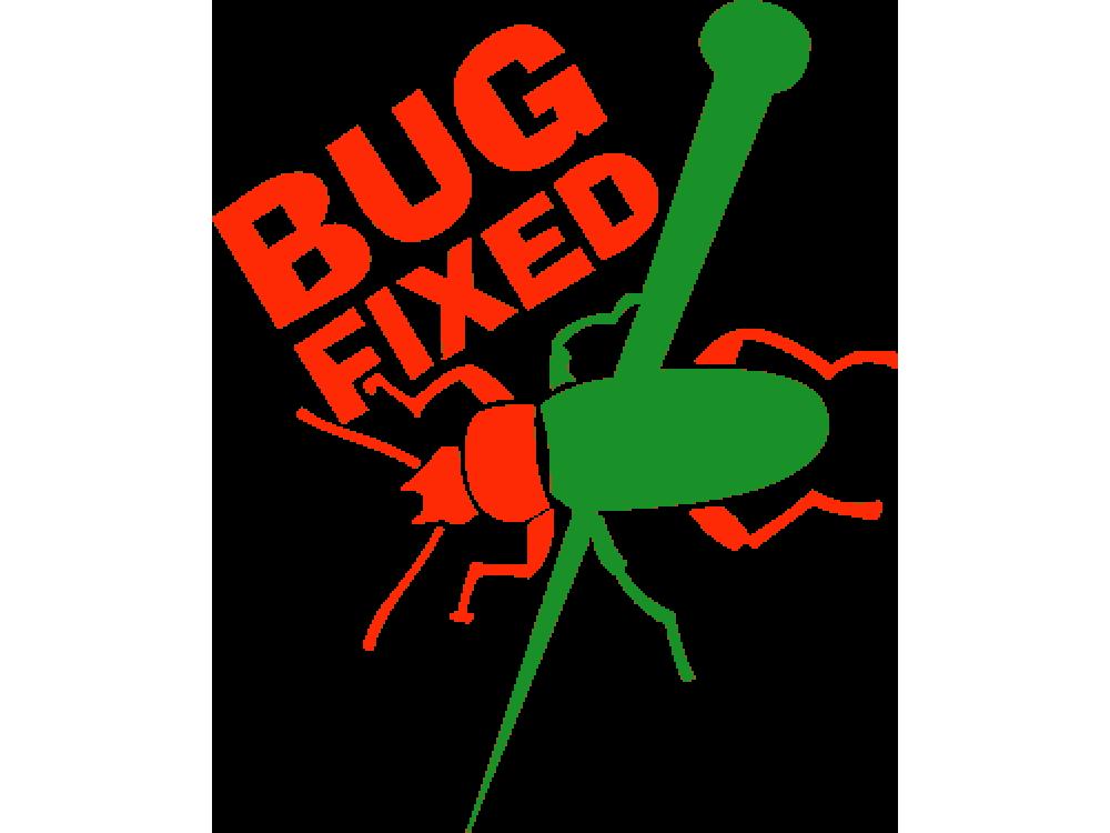 """BUG FIXED"" Изображение для нанесения на одежду № 0691"