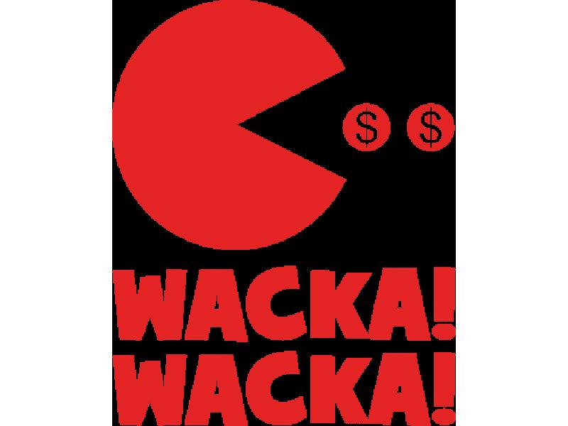 """""""WACKA"""" Изображение для нанесения на одежду № 0698"""