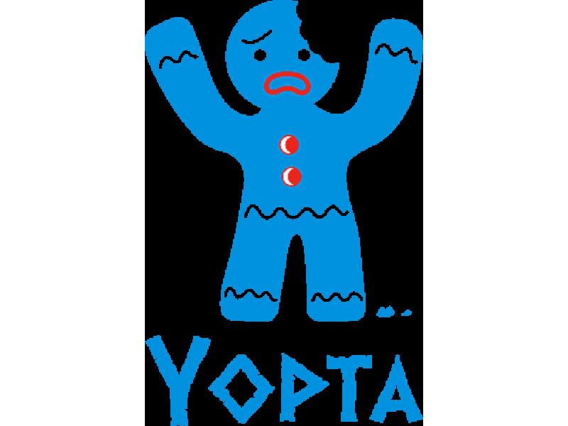 """""""YOPTA"""" Изображение для нанесения на одежду № 0780"""