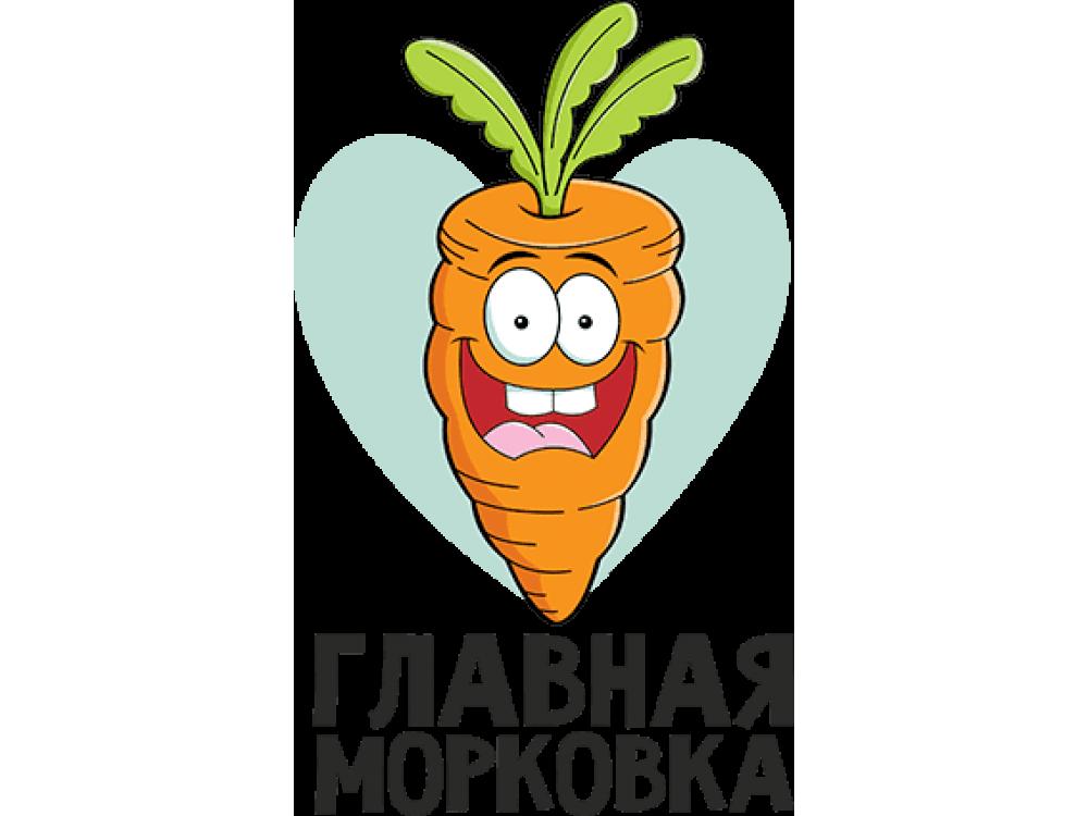 """Изображение для нанесения на одежду № 0042-1 """"Главная морковка"""""""