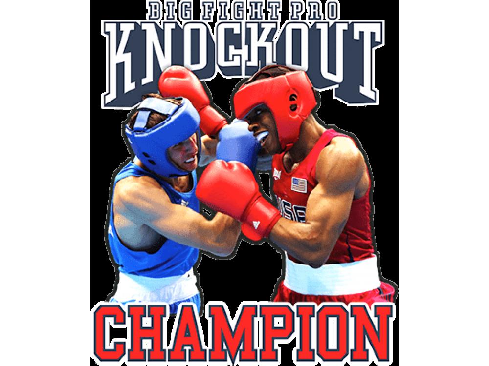 """""""Knockout"""" Изображение для нанесения на одежду № 1343"""