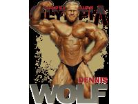 """""""Dennis Wolf"""" Изображение для нанесения на одежду № 1346"""