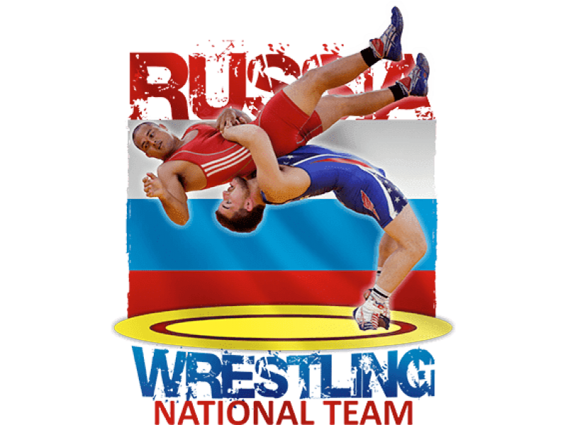 """Nation Wrestling Team"" Изображение для нанесения на одежду № 1349"