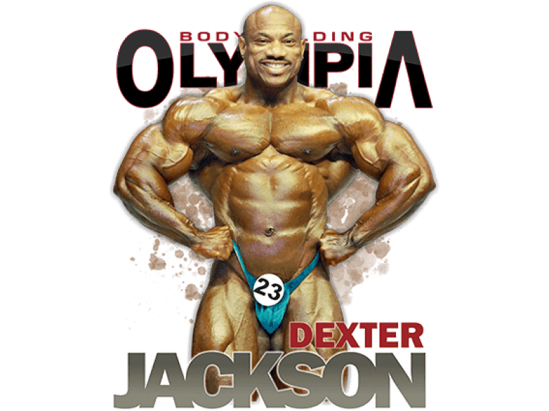 """""""Декстер Джексон"""" Изображение для нанесения на одежду № 1354"""
