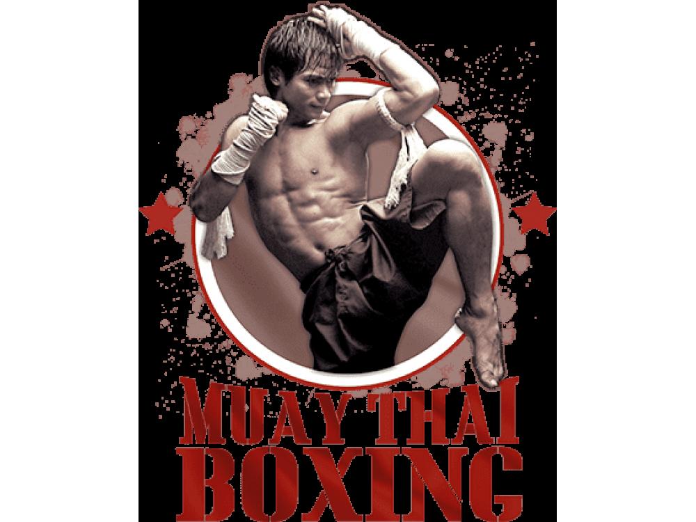 """Muay Thai Boxing"" Изображение для нанесения на одежду № 1357"