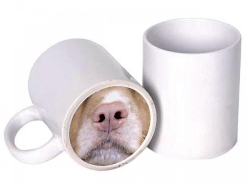 Кружка белая (Веселый нос) Собака