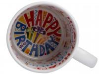 """HAPPY BIRTHDAY-2"" Кружка белая с принтом внутри"