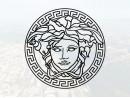 "Наклейка ""Versace логотип"""