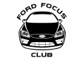 Наклейка Ford focus club 2