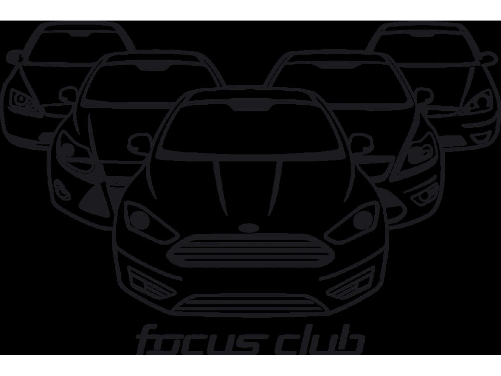 Наклейка Focus club
