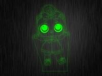 """Ночник """"Куколка №10"""" на светодиодной подставке"""