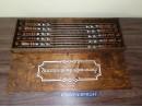 Деревянная коробка из фанеры 4 мм для шампуров длинной 75 см, 77*27*5,5 см