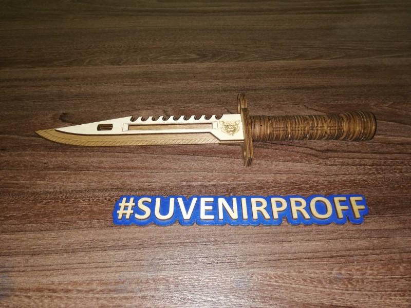 Деревянный нож из фанеры