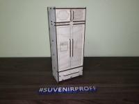 """Конструктор """"Деревянный холодильник для кукол барби"""", 29*12*7 см"""