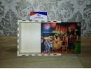 Коробка в виде пенала из фанеры с фотопечатью, 17*21*5,5 см