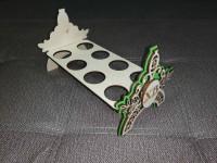 Подставка для яиц ажурная из фанеры 4 мм