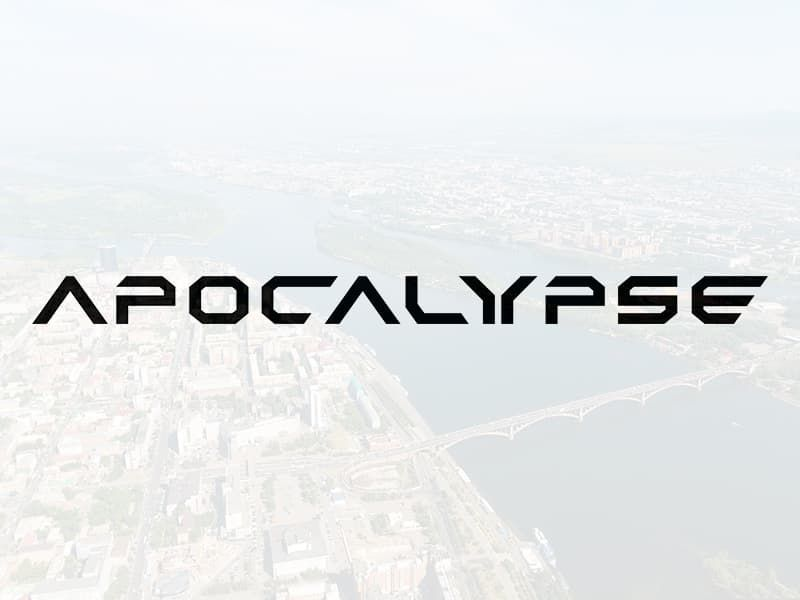 "Наклейка ""Apocalypse"""