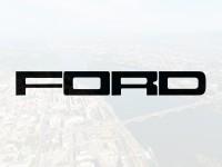 """Наклейка """"Надпись Ford F-150"""" на шильдик"""