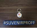 Металлический попсокет для телефона цвет серебро с фотопечатью