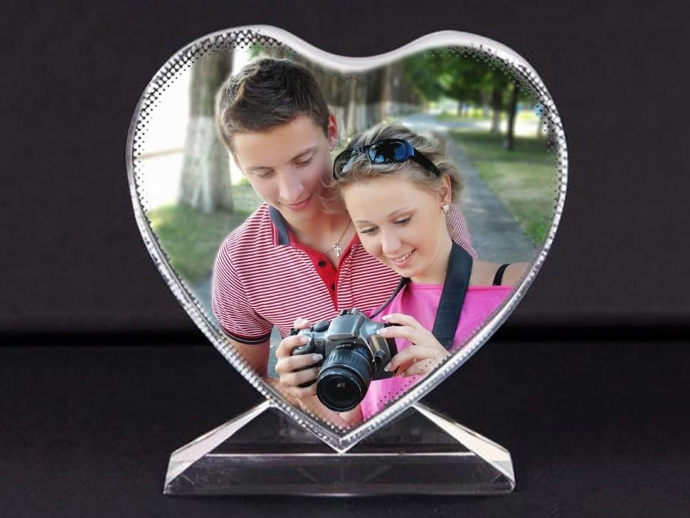 Кристалл BXP13 сердце 105х110х35 мм