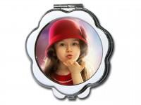 Макияжное зеркальце цветок