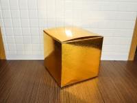 Коробка для кружки голографическая золото