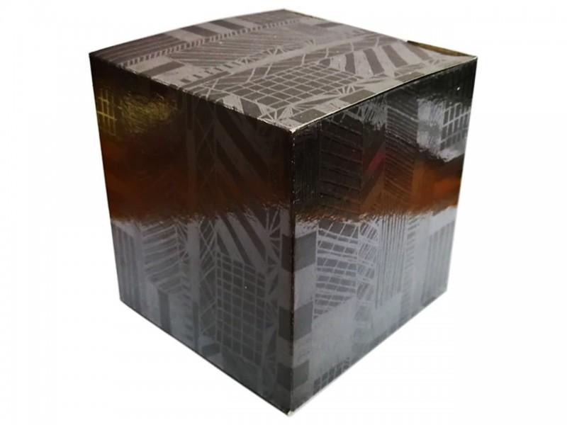 """Коробка для кружки """"Черная графика"""""""