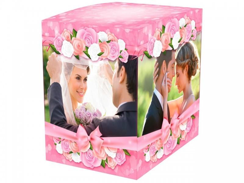"""Коробка для кружки """"Свадьба"""""""