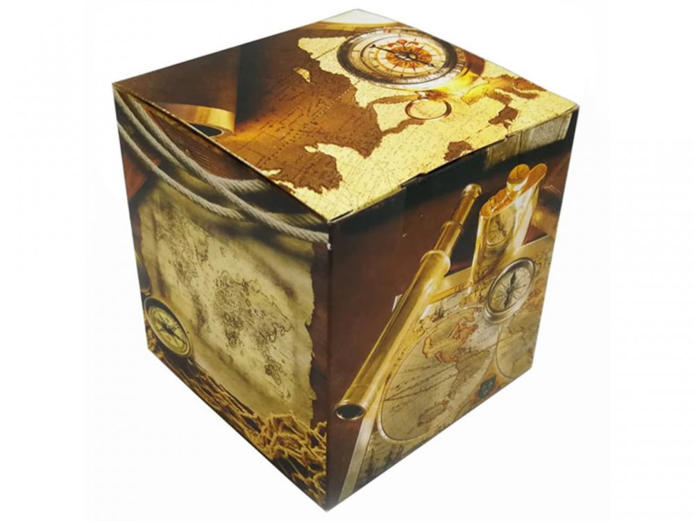 "Коробка для кружки ""Путешествия"""