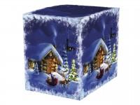 """Коробка для кружки """"Новогодний домик"""""""