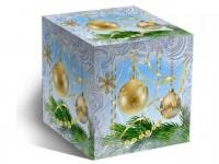 """Коробка для кружки """"Новогодние шары"""""""
