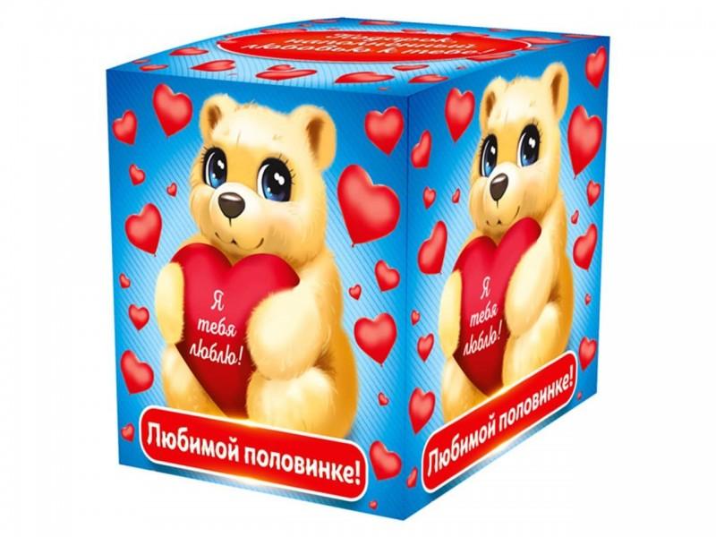 """Коробка для кружки """"Любимой половинке"""""""