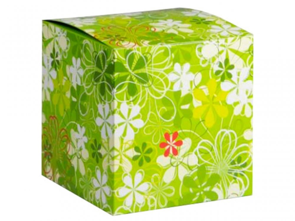 "Коробка для кружки ""Зеленая"""