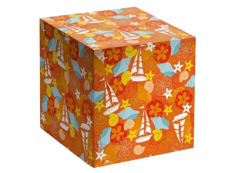 """Коробка для кружки """"Детская оранжевая"""""""