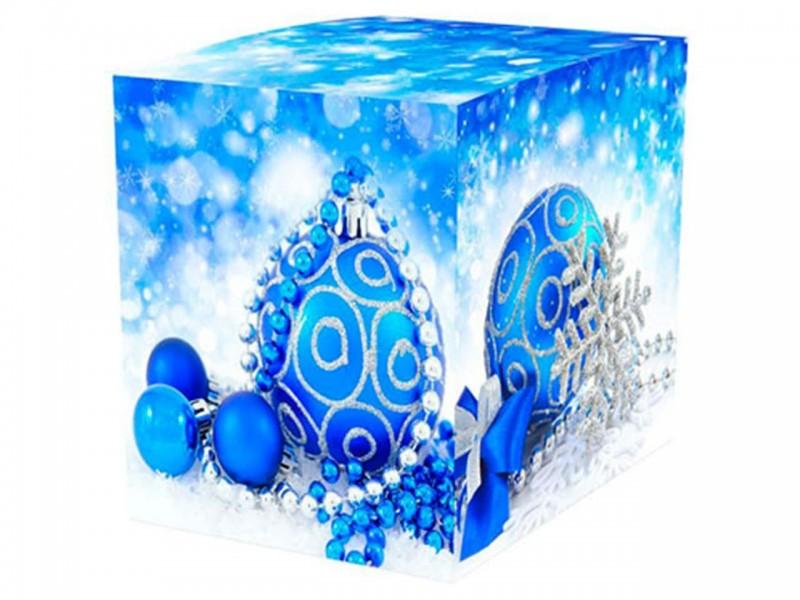 """Коробка для кружки """"Елочные шары"""""""