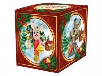 """Коробка для кружки """"Подарок от зайчика"""""""