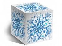 """Коробка для кружки """"Снежинка"""""""