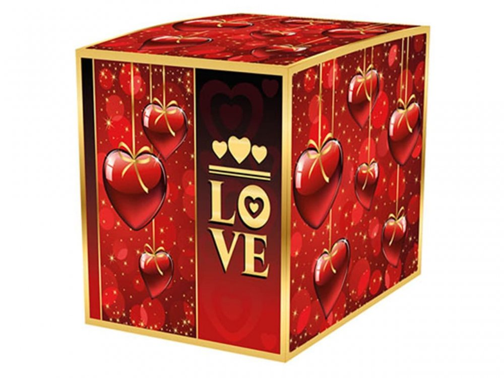 """Коробка для кружки """"Love"""""""